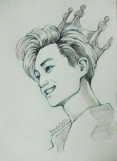Kpop Drawings, Art Drawings, Witchy Wallpaper, Character Design Tutorial, Black And White Drawing, Kpop Fanart, Drawing Reference, Traditional Art, Art Blog