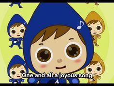 Blz. 18 Let us sing together