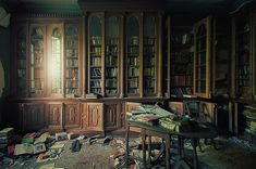 I would love to spend an afternoon in this library, just exploring