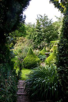 Hillbark Gardens, Bardsey, Yorkshire