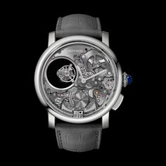 PRE-SIHH 2017 Cartier The Minute Repeater Mysterious Double Tourbillon 9407 MC