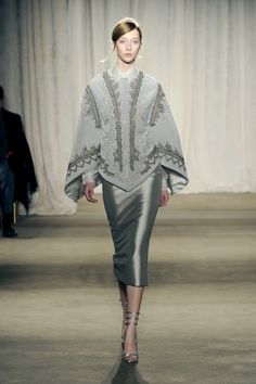 New York Fashion Week: Marchesa Fall 2013 / Photo by Anthea Simms