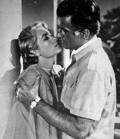 Grace Kelly and Stewart Granger in Green Fire