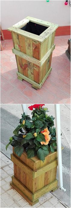 You can even set aside the use of the wood pallet for the planter box design as well. You would eventually be finding it so creative because the functional taste of the planter box has been rather put into the designing of giving it the impact of storage box variation. See the image! How it looks!