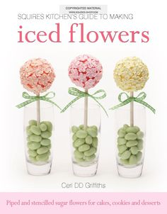From delicate daisies to pretty poppies, learn step-by-step how to ice 13 decorative flowers in royal icing for celebration cakes, decorated cookies, cupcakes, macaroons and even desserts.