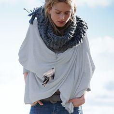 Kuscheliges Outfit für kalte Tage: HAYWARD Pullover #impressionen #fashion