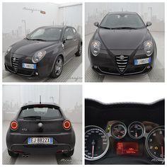 Alfa Romeo Mito 140 CV quadrifoglio, usata, color nero etna, del luglio 2011. #alfaromeo #usato #Mirafiorioutlet