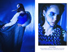 Into the Blue on Behance Behance, Gallery, Model, Photography, Blue, Fictional Characters, Collection, Art, Art Background