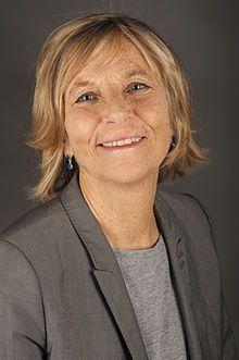 Marielle de Sarnez est ministre chargée des affaires européennes Mai
