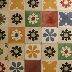 Detail from the Happy morning floor