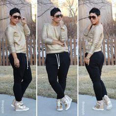 sporty casual plus size, Plus Size Street looks by Mimi G http://www.justtrendygirls.com/plus-size-street-looks-by-mimi-g/