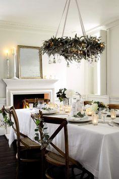 Christmas Table Settings | Christmas table setting | Christmas