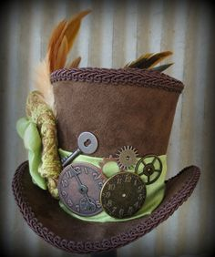 Steam punk Mad Hatter?!? Pretty cool.
