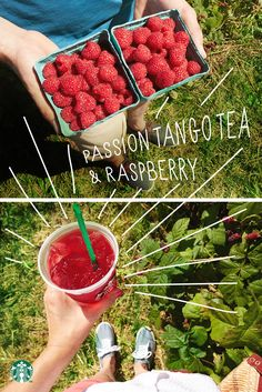 For a delightfully fruity tea tip, ask your barista to add raspberry syrup to your Starbucks Teavana Shaken Iced Passion Tango Tea.