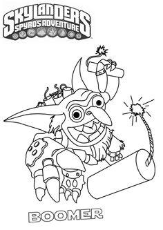 Skylanders Boomer by ~tarpius on deviantART