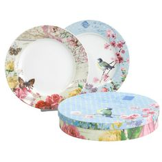 Vintage Plate Set of 2, £12, now featured on Fab.