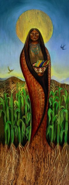 La Pachamama ☆ Corn Mother :¦: Artist David Joaquin ☆