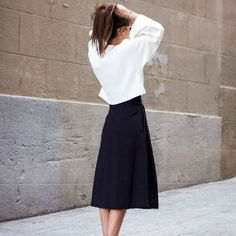 10 τρόποι για να φορέσεις μια midi φούστα!