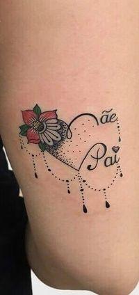 30 Fine-Tattoos for Inspiration Mini Tattoos, Love Tattoos, Body Art Tattoos, Small Tattoos, Tattoos For Women, Mommy Tattoos, Couple Tattoos, Herz Tattoo Klein, Tatoo Rose