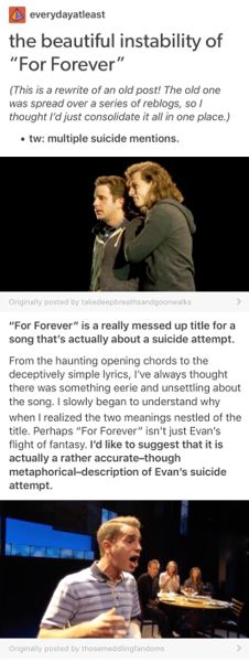 """the beautiful instability of """"for forever"""" Theatre Nerds, Musical Theatre, Dear Evan Hansen Musical, Dear Even Hansen, Be More Chill, Out Of Touch, Fandoms, Evans, Acting"""