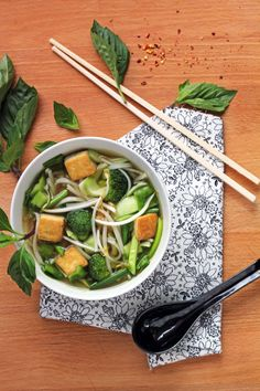 Tofu Pho (Vietnamese Noodle Soup) - In Sonnet's Kitchen @Mayra Ramirez we are making this over the break with our homemade tofu!