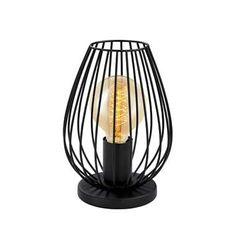 EGLO tafellamp Newtown - zwart