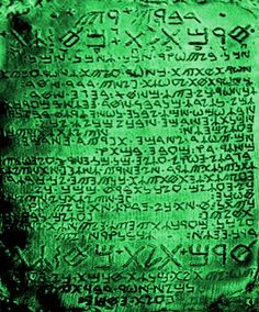 Emerald Tablet of Hermes - Alchemy of the Emerald Tablet