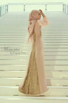 Plain Jilbab With Sequin Back Panel