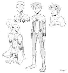 Spider-Man Homecoming by @braitasou