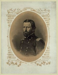 Click to learn about Major General Ulysses .S. Grant's strategy during the Civil War.