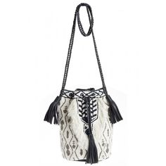Tam Bead Embellished Bucket Bag | Calypso St. Barth
