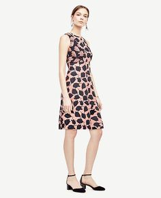 6c7d8db920d Image of Tulip Jacquard Flare Dress