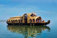 Neat houseboat...