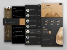 The Orton Daily - Sublime UI design by Tintins Design Web, App Ui Design, Flat Design, Design Layouts, Interface Web, User Interface Design, App Design Inspiration, Mobile Ui Design, Apps