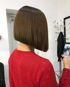 "cleo evo on Instagram: ""стрижка  #haircut #bobbedhaircuts #modernbob #парикмахерпенза #салонкрасотыпенза #Repost @valentina_katyushina with @insta.save.repost • •…"""