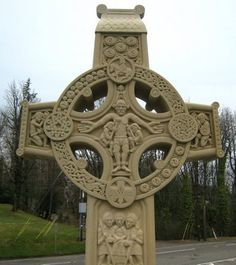 stone celtic cross | Shadows On Stone: The One That Got Away. Celtic Cross Sculpture