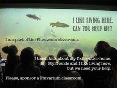 Make A Donation   The Suncor Energy Fluvarium