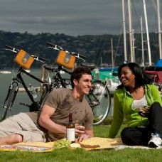 DAY ONE: Self guided San Francisco Bike Rentals and guided bicycle tours. Experience the most popular bike tour cycling across the Golden Gate Bridge! The amazing ride can be done independently (self guided rental is included with Go Card).