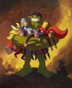 Hulk Hug!