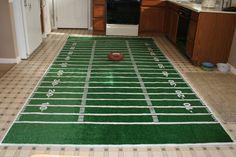 DIY+football+field+rug More