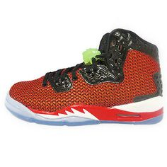ae057f7417585 Nike Jordan Spike Forty Ps Little Kids Red Green Shoes Youth Size 13