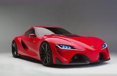 Photos of the Toyota FT-1 Concept super car : theTHROTTLE