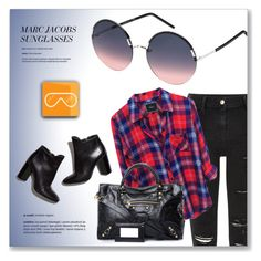 """""""SMARTBUYGLASSES"""" by monmondefou ❤ liked on Polyvore featuring River Island, Balenciaga and Pierre Hardy"""