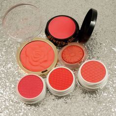Bright Spring Blushes - Three Custom Color Specialists, Milani, Clinique, and Colour Pop Cosmetics. IG: @Sweetp_chic