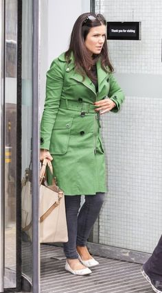 Susanna Reid Photos Photos - Susanna Reid leaves the ITV Studios. - Susanna Reid at the ITV Studios Suzanne Reid, Elie Saab, Raincoat, Celebs, Studios, Jackets, Cinema, Leaves, Film