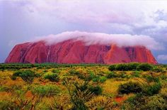 Uluru (Ayers Rock), Northern Territory, Australia. One of two major features of the Uluru-Kata Tjuta National Park, Uluru is a large sandstone rock formation surrounded by an abundance of springs, waterholes, rock caves and ancient paintings. It is also listed as a UNESCO World Heritage Site. Featured photographer @ronaldrockman and published in Leica Fotographie International. 📷 Tag #earthtouristguide to be featured. ----------------------------- #uluru #ayersrock…