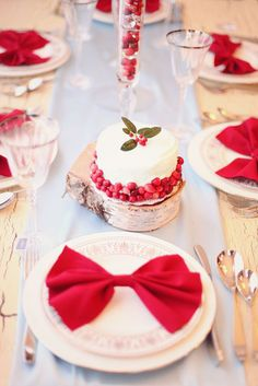 красно белая зимняя свадьба - Поиск в Google