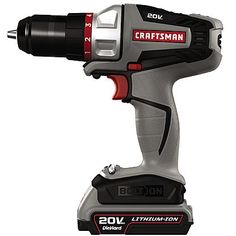 craftsman bolt on 20v max lithium ion drilldriver kit 16496 craftsman power toolscordless drillgrainsholiday giftsholiday