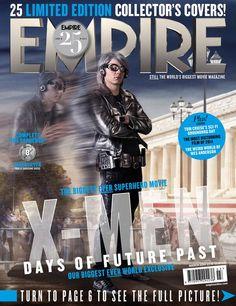 Empire Magazine. 'X-Men Days of Future Past' covers