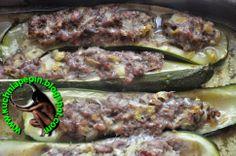 w mojej kuchni: Cukinia nadziewana mięsem